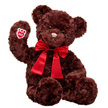 Hugs and Wishes Bear Red Bow Gift Set, , hi-res