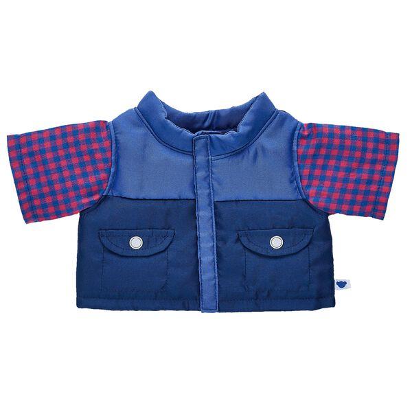 Blue Puffer 2-Fer Jacket, , hi-res