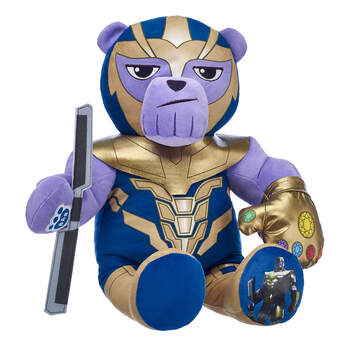 Online Exclusive Thanos Bear - Build-A-Bear Workshop®