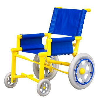 teddy bear wheelchair accessory front view