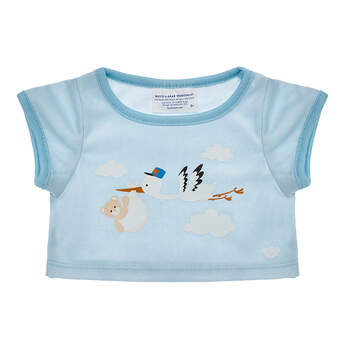 Online Exclusive Stork T-Shirt - Build-A-Bear Workshop®