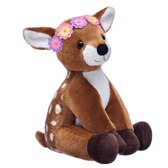 Online Exclusive Fawn with Flower Crown, , hi-res