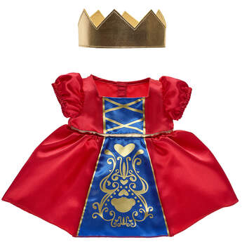 Queen Costume 2 pc. - Build-A-Bear Workshop®