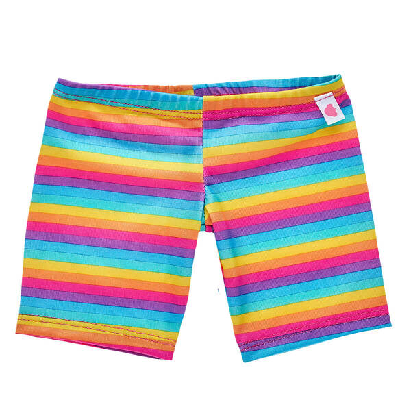 Rainbow Stripes Leggings - Build-A-Bear Workshop®