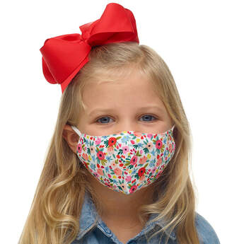 Child-Size Flower Face Mask - Build-A-Bear Workshop®