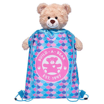 Blue Mermaid Toy Bear Carrier - Build-A-Bear Workshop®