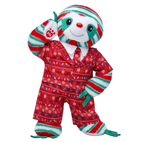 Peppermint Twist Sloth Christmas Party Gift Set, , hi-res