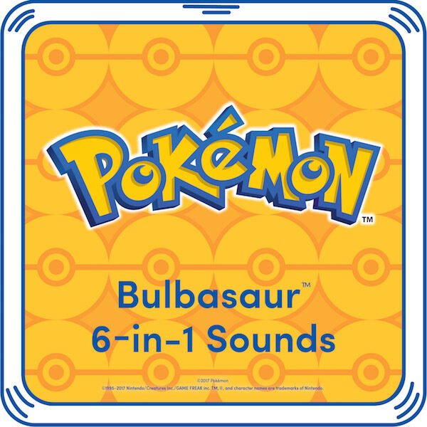 6-in-1 Bulbasaur Sound, , hi-res