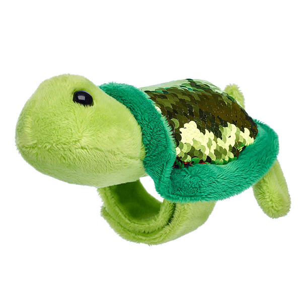Reversible Sequin Turtle Slap Bracelet - Build-A-Bear Workshop®