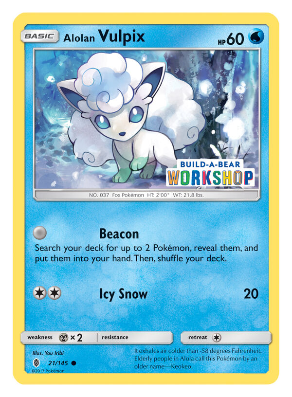 Build-A-Bear Workshop Exclusive Pokémon TCG Card, , hi-res
