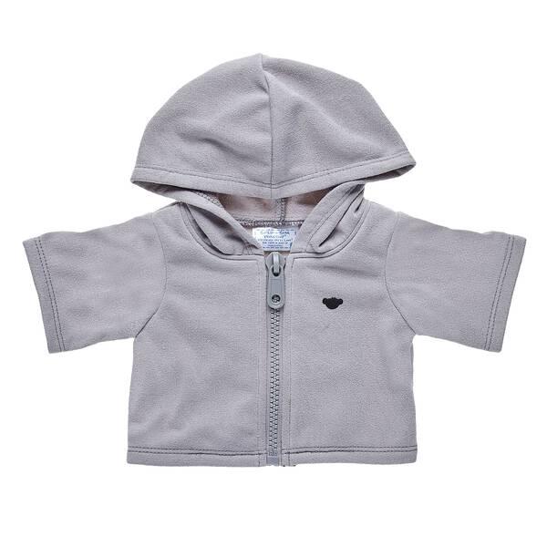 Grey Zip Hoodie - Build-A-Bear Workshop®