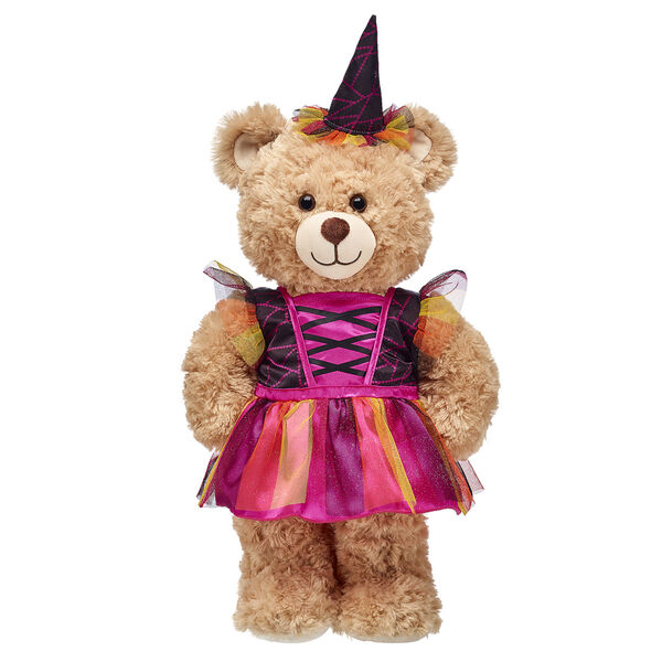 Orange and Pink Witch Costume 2 pc., , hi-res
