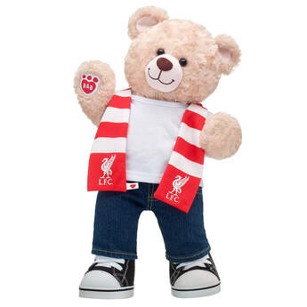 Happy Hugs Teddy Liverpool F.C. Scarf Gift Set, , hi-res