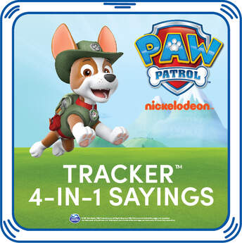 PAW Patrol Tracker 4-in-1 Sayings - Build-A-Bear Workshop®