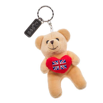 Union Jack Teddy Bear Keyring - Build-A-Bear Workshop®