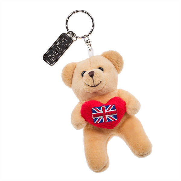 Union Jack Teddy Bear Keyring - Build-A-Bear Workshop®