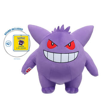 Gengar with 5-in-1 Sound - Build-A-Bear Workshop®