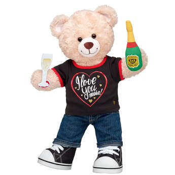 Online Exclusive Happy Hugs Teddy Love You More Gift Set, , hi-res
