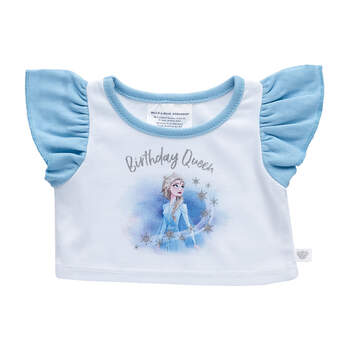 Disney Frozen 2 Birthday Queen T-Shirt - Build-A-Bear Workshop®
