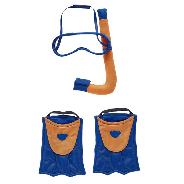 Snorkel & Fin Set 4 pc., , hi-res