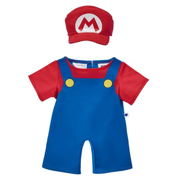 Mario Costume 2 pc. - Build-A-Bear Workshop®