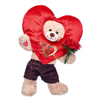 Happy Hugs Teddy Red Heart Gift Set, , hi-res