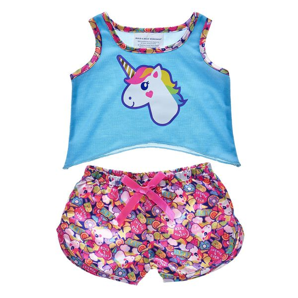 Rainbow Unicorn Pyjamas, , hi-res