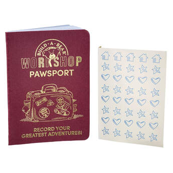 Keep track of your furry friend's greatest adventures in their very own Pawsport! This official Pawsport includes stickers and is the perfect way to remember all of your travels with your furry friend!