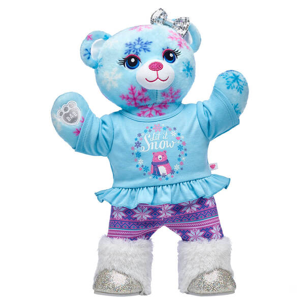 Online Exclusive Snow Much Fun Bear Gift Set, , hi-res