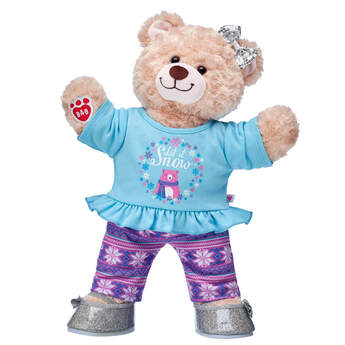 Happy Hugs Teddy Let It Snow Gift Set, , hi-res
