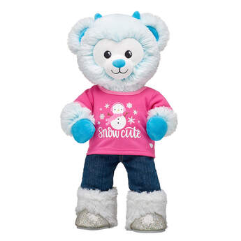 Online Exclusive Snow Monster Bear Snow Cute Gift Set, , hi-res
