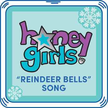"Add the song ""Reindeer Bells"" by the Honey Girls to any furry friend. You'll want to sing along! Just give your furry friend a squeeze to hear this Christmas song again & again."
