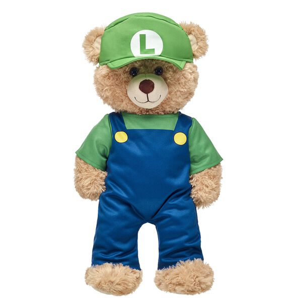 Luigi Costume 2 pc., , hi-res