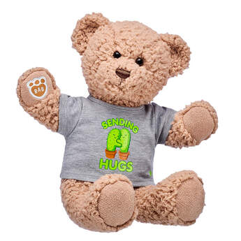 Online Exclusive Timeless Teddy Sending Hugs Gift Set, , hi-res