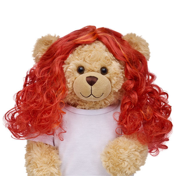 Just like Merida's beautiful curly red locks, this wig will bring her independent spirit alive for any furry friend.  Disney