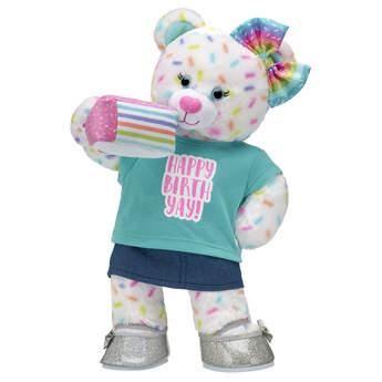 Online Exclusive Sweet Sprinkles Bear Birthday Cake Gift Set, , hi-res