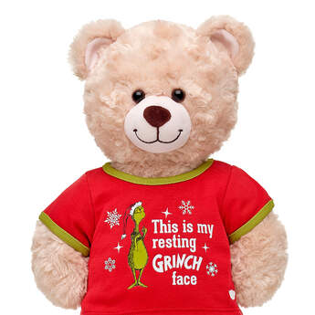 Online Exclusive Grinch Face T-Shirt - Build-A-Bear Workshop®