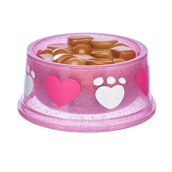 Promise Pets™ Pink Food Bowl - Build-A-Bear Workshop®