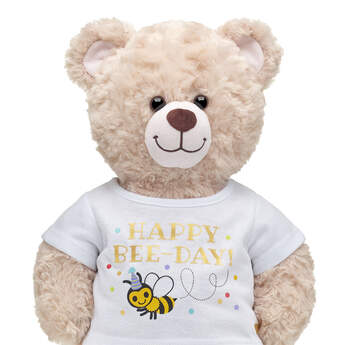 Online Exclusive Happy Bee-Day T-Shirt - Build-A-Bear Workshop®