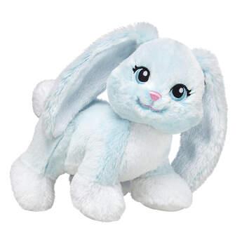 mint coloured rabbit stuffed animal