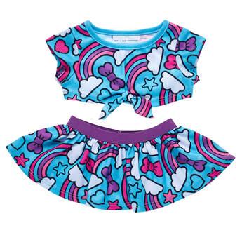 Kabu™ Skirt & Top Outfit 2 pc. - Build-A-Bear Workshop®