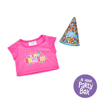 Party Animal Birthday T-Shirt & Party Hat, , hi-res