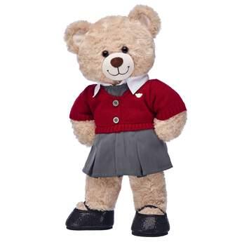Happy Hugs Teddy Girls' School Uniform Gift Set, , hi-res