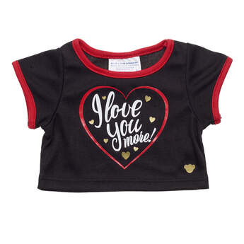 Online Exclusive I Love You More T-Shirt - Build-A-Bear Workshop®