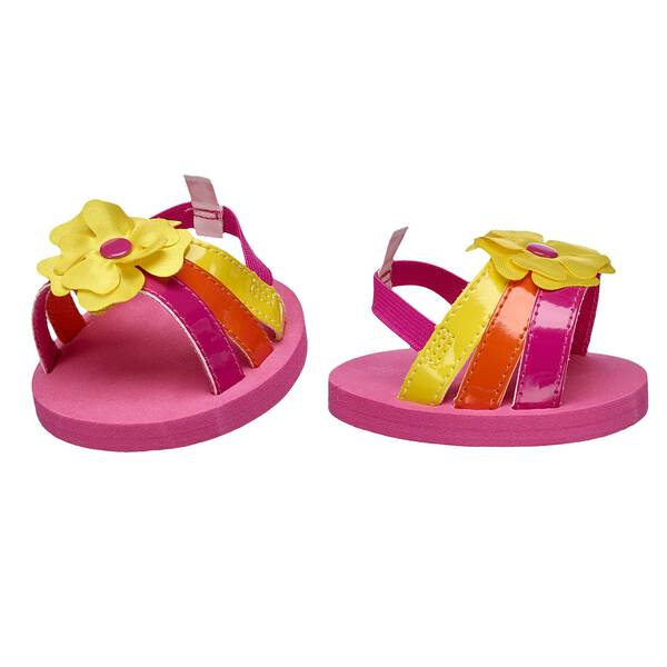Tropical Flower Sandals - Build-A-Bear Workshop®