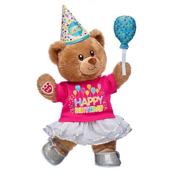 Birthday Treat Bear Birthday Girl Gift Set, , hi-res