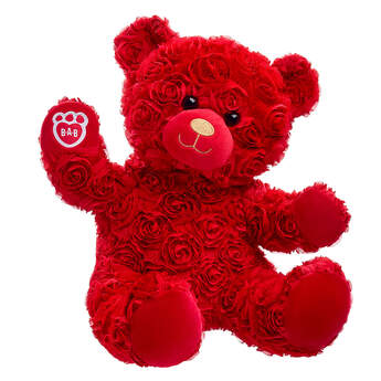 Red Roses Bear - Build-A-Bear Workshop®