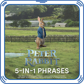 Peter Rabbit™ 5-in-1 Phrases, , hi-res