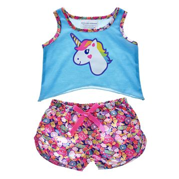 Your furry friend can dream in every color of the rainbow with this cute PJ set! Personlize a furry friend to make the perfect gift. Shop online or visit a store near you!