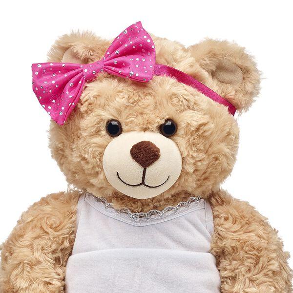 Honey Girls Pink Sparkle Bow, , hi-res
